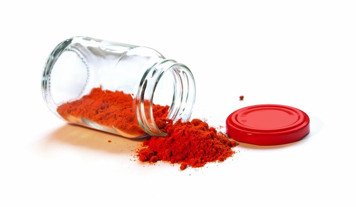 Smoked paprika in jar
